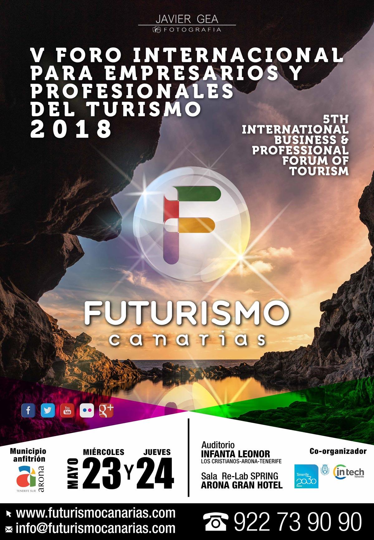 Cartel Foro Futurismo 2018