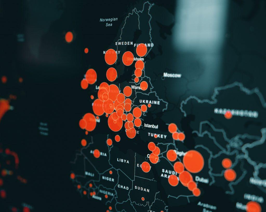 Mapa de comportamiento del turista. Datos del turista.